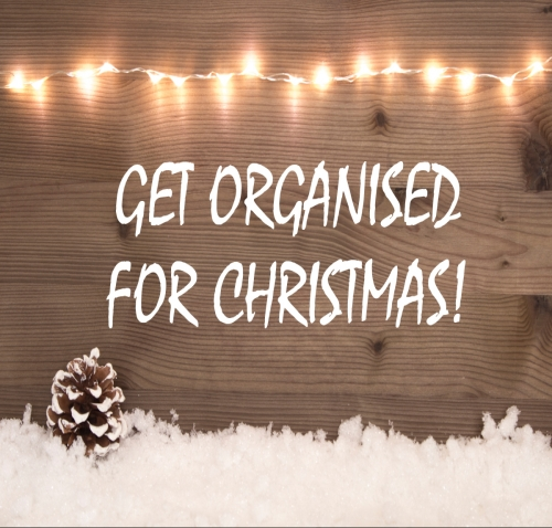 Get Organised for Christmas!